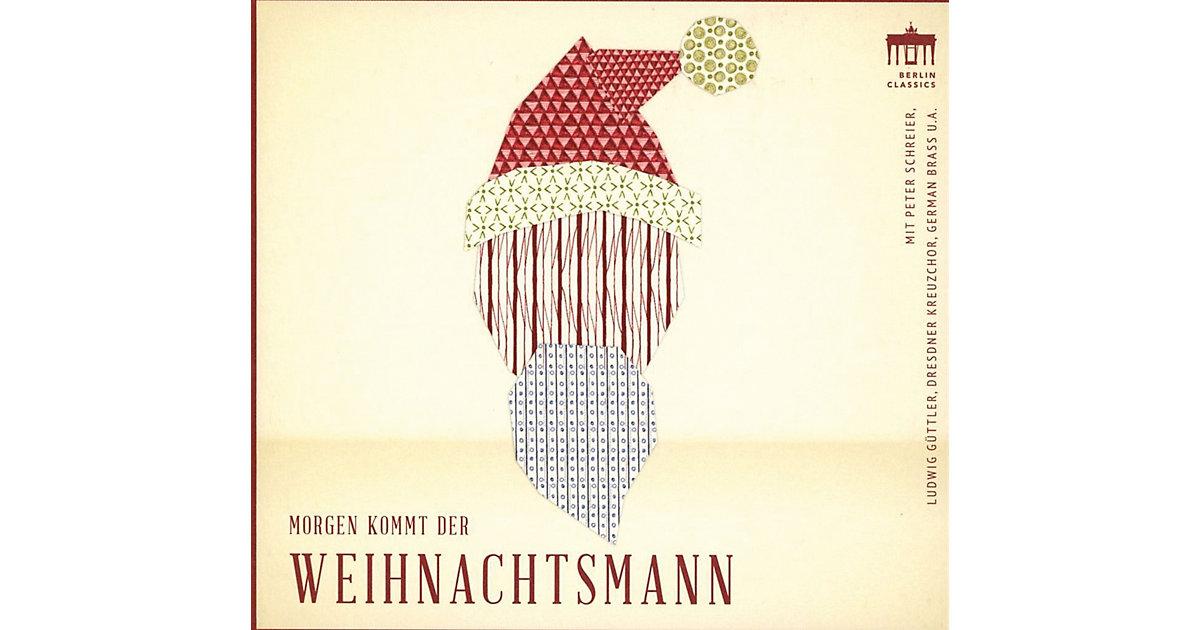 CD Morgen kommt der Weihnachtsmann