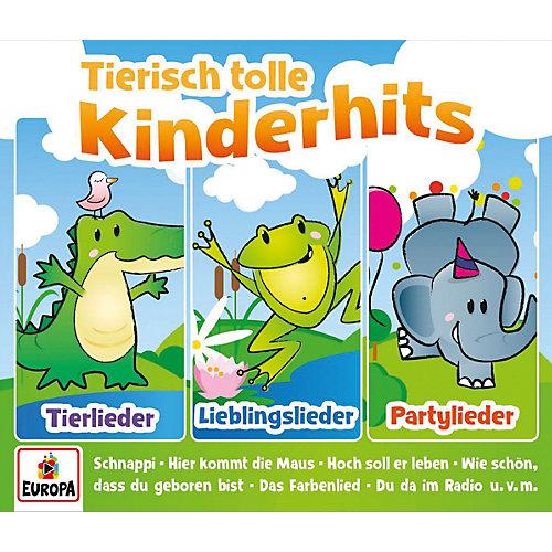 Kinderliederbande - Tierisch tolle Kinderhits-01/3er Box (Tierlieder [CD] jetztbilligerkaufen
