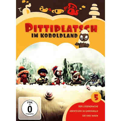 DVD Pittiplatsch 5 - Pittiplatsch im Koboldland