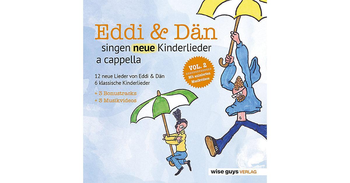 CD Eddi & Dän singen neue Kinderlieder a cappella