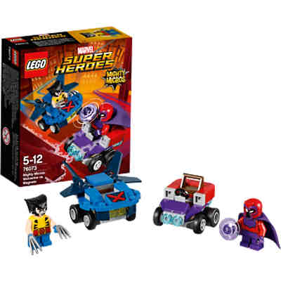 LEGO 76073 Super Heroes: Mighty Micros: Wolverine vs. Magneto