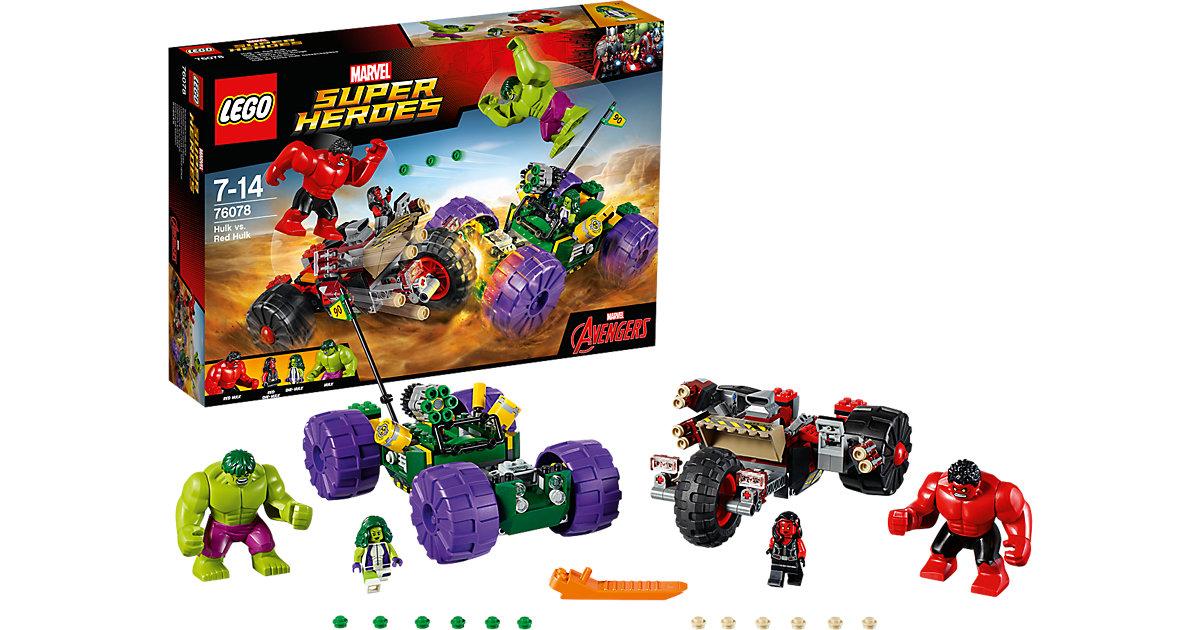 LEGO 76078 Super Heroes: Hulk gegen Red Hulk