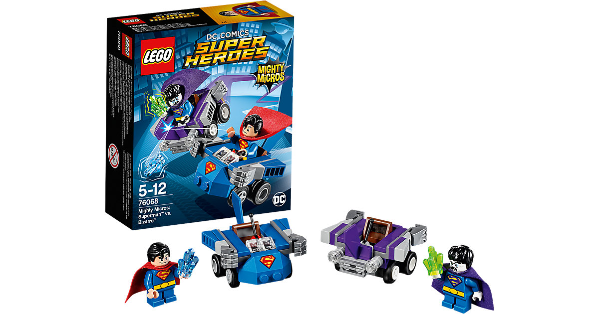 LEGO 76068 Super Heroes: Mighty Micros: Superman vs. Bizarro