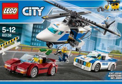 LEGO City Rasante Verfolgungsjagd 60138 LEGO Bau- & Konstruktionsspielzeug LEGO Baukästen & Sets