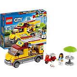 Конструктор LEGO City 60150: Фургон-пиццерия