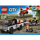 Конструктор LEGO City 60148: Гоночная команда