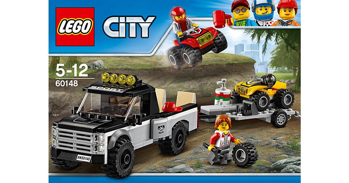 LEGO 60148 City: Quad-Rennteam