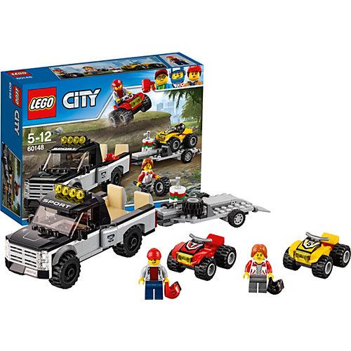 Конструктор LEGO City 60148: Гоночная команда от LEGO