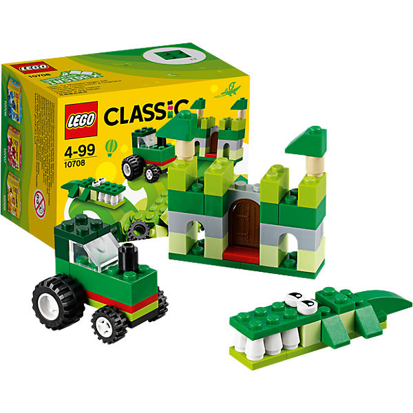 LEGO 10708 Classic: Kreativ-Box Grün, LEGO Classics