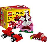 LEGO Classic 10707: Красный набор для творчества