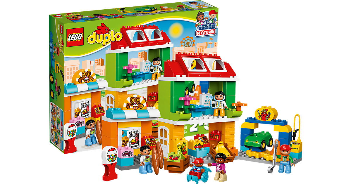LEGO 10836 DUPLO: Stadtviertel