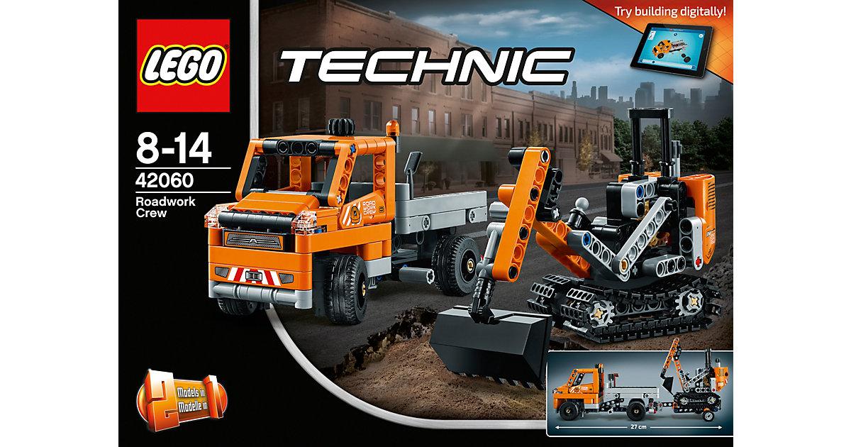 LEGO 42060 Technic: Straßenbau-Fahrzeuge