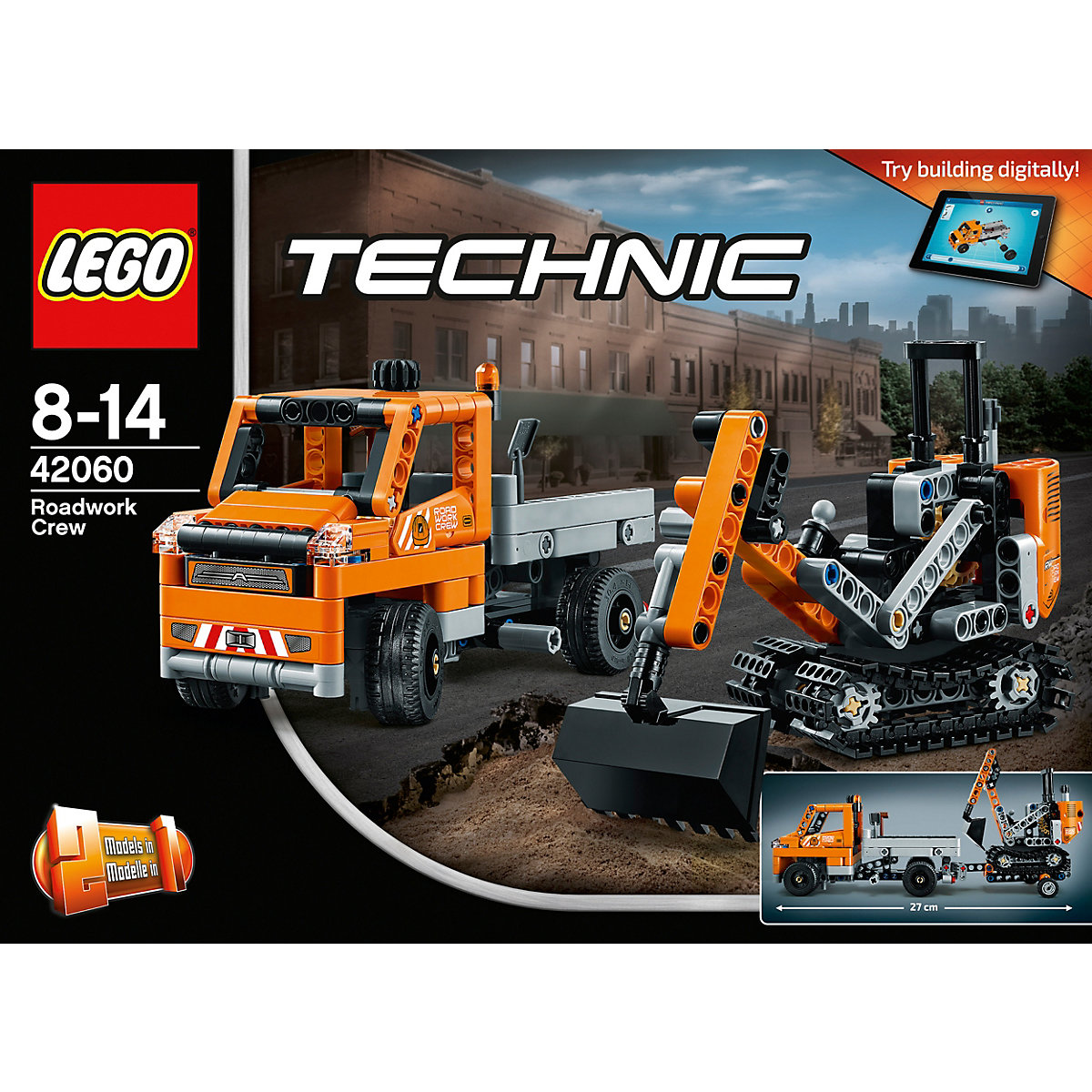 lego 42060 technic stra enbau fahrzeuge lego mytoys. Black Bedroom Furniture Sets. Home Design Ideas