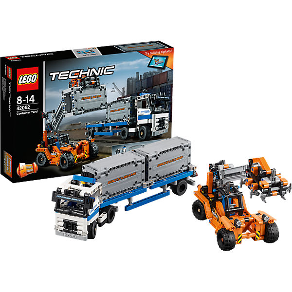 lego 42062 technic container transport lego technic mytoys. Black Bedroom Furniture Sets. Home Design Ideas