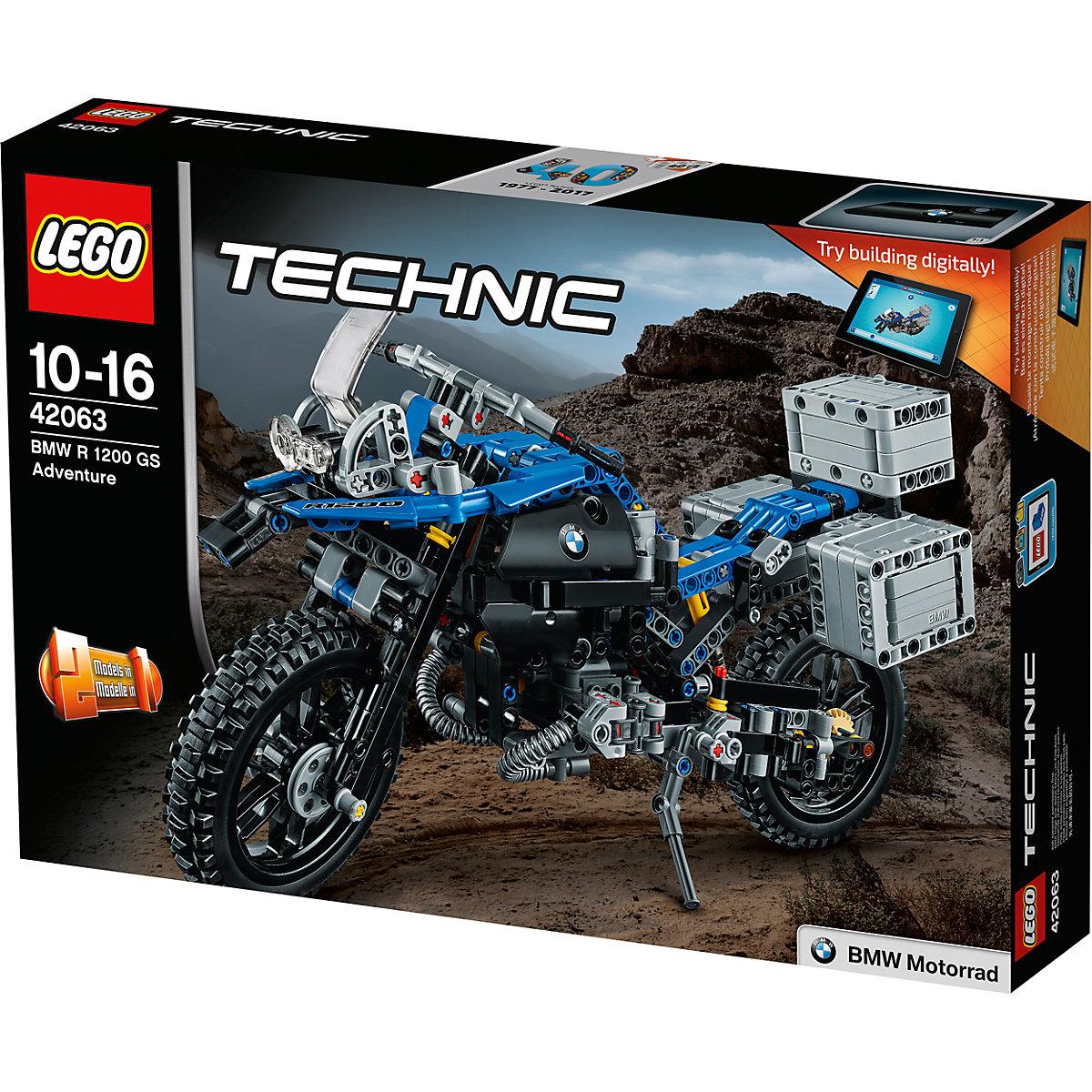 LEGO 42063 Technic: BMW R 1200 GS Adventure, LEGO | myToys