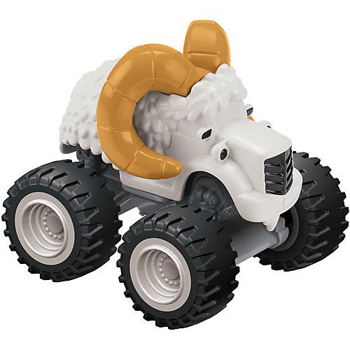 """Машинка Fisher Price """"Вспыш и чудо-машинки"""" Снежный баран от Mattel"""