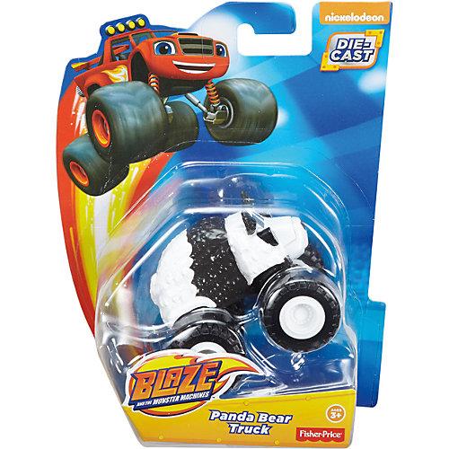 "Машинка Fisher Price ""Вспыш и чудо-машинки"" Панда от Mattel"