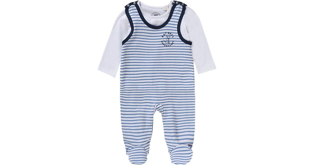 Baby Set Strampler + Langarmshirt Gr. 74 Jungen Baby