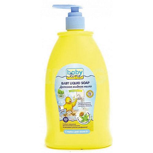 Детское жидкое мыло 500 мл. с дозатором, BABYLINE от Babyline