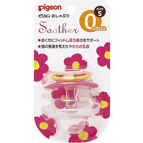 Пустышка Цветочек 0+ мес (S), Pigeon от Pigeon