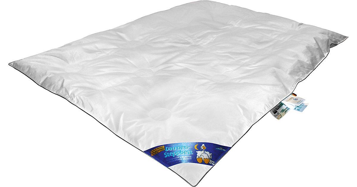 Aro Artländer · Kinder Bettdecke KARO mit Klimakammern, Daunen (15%), 100 x 135 cm