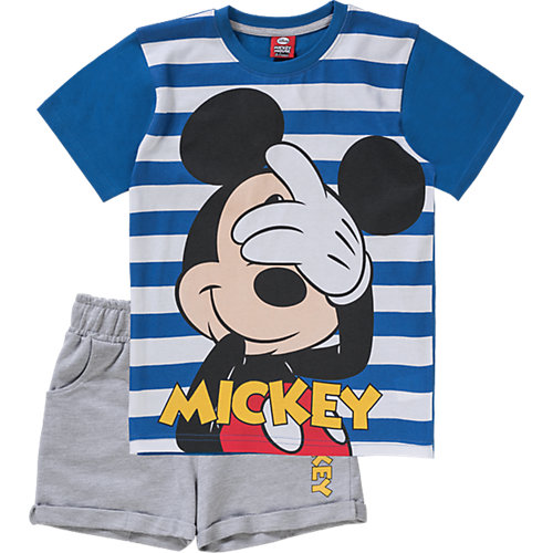 Cottbus Angebote Disney Mickeymouse Friends Mickey Mouse & friends Set T-Shirt Sweatshorts Gr. 140/146 Jungen Kinder