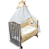 Комплект в кроватку 6 предметов Сонный гномик, Умка, бежевый