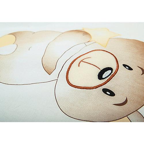 Комплект в кроватку 6 предметов Сонный гномик, Умка, бежевый от Сонный гномик