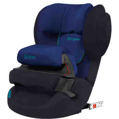 Auto-Kindersitz Juno 2-Fix, Silver-Line, Blue Moon-Navy Blue, 2017