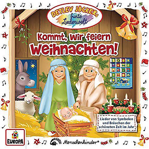 Detlev Jöcker - Kommt, wir feiern Weihnachten [CD] jetztbilligerkaufen