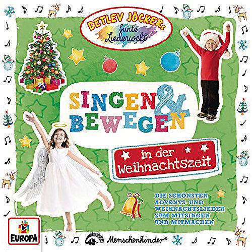 Detlev Jöcker - Singen und Bewegen in der Weihnachtszeit [CD] jetztbilligerkaufen