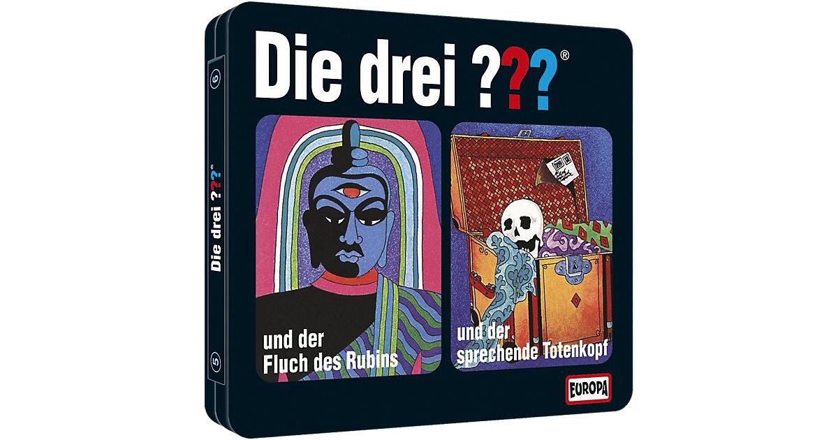 CD Die Drei ??? - Folge 5+6 (Steelbook)