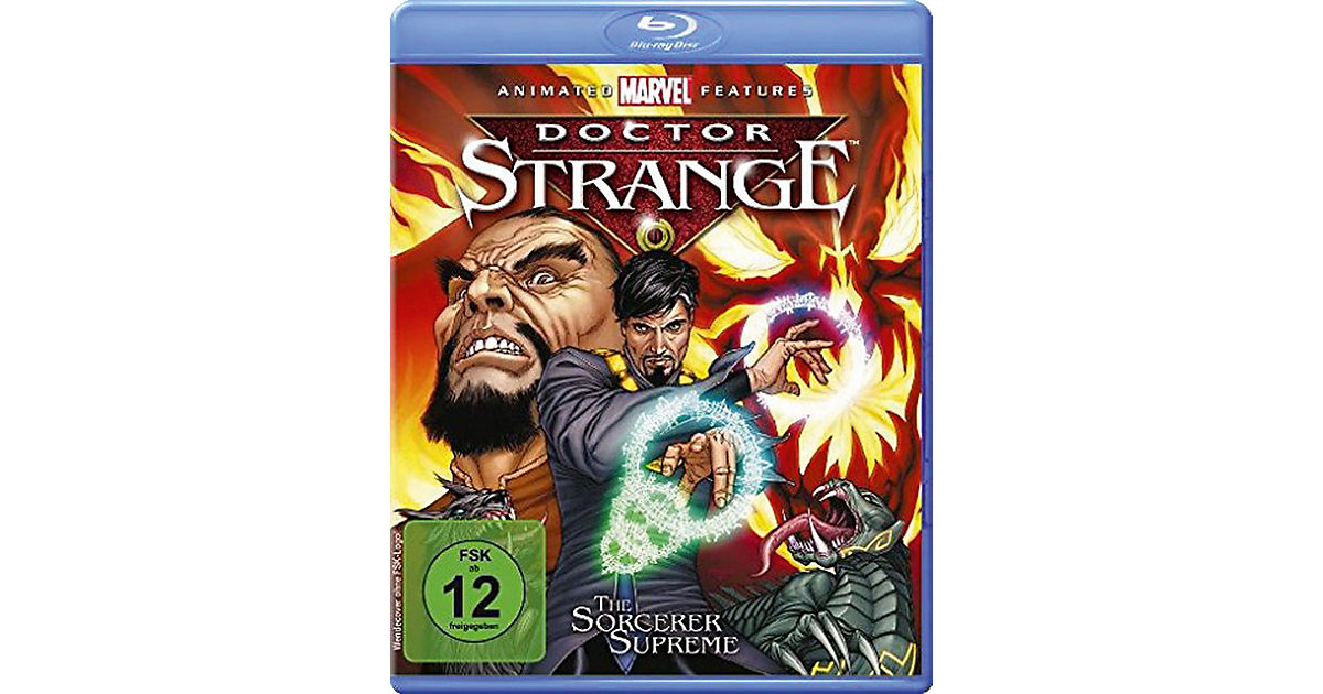 BLU-RAY Doctor Strange - Marvel