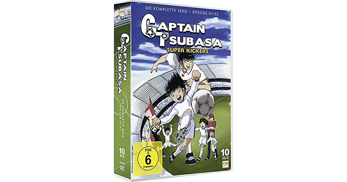 DVD Captain Tsubasa - Super Kickers - Gesamtedi...