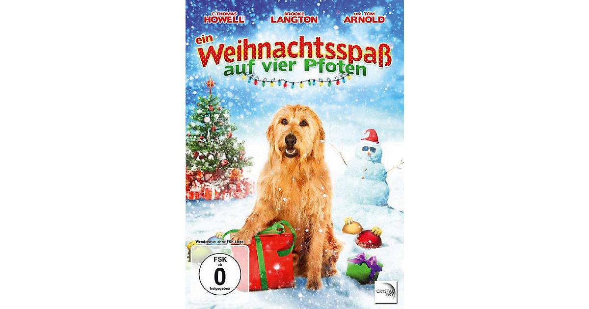 DVD Ein Weihnachtsspaß auf vier Pfoten Hörbuch