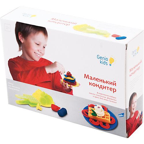 """Набор для детской лепки """"Маленький кондитер"""" от Genio Kids"""