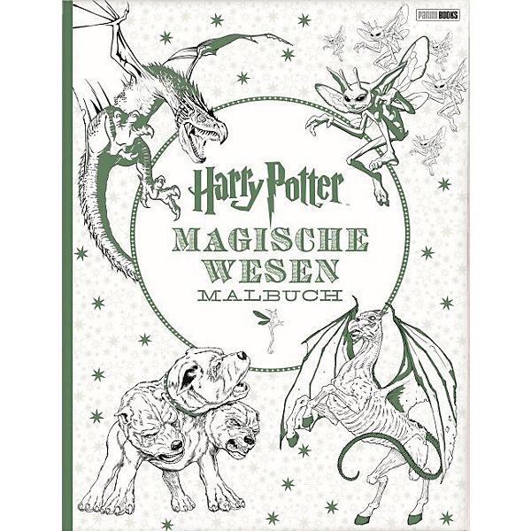 Harry Potter: Magische Wesen Malbuch, Harry Potter | myToys