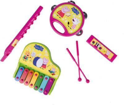 Набор музыкальных инструментов на блистере, Свинка Пеппа