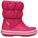 Сноубутсы Winter Puff Boot Kids для девочки CROCS