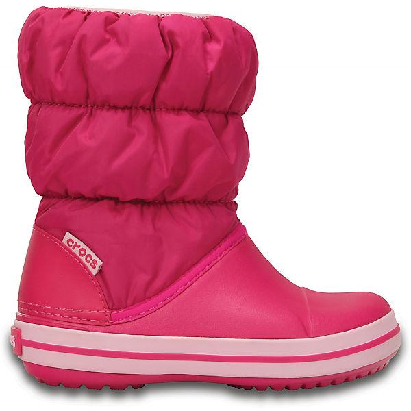 Сноубутсы Winter Puff Boot Kids для девочки CROCS