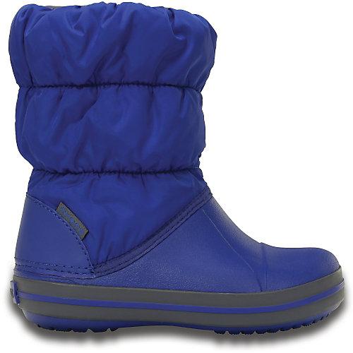 Сноубутсы Winter Puff для мальчика CROCS - синий от crocs