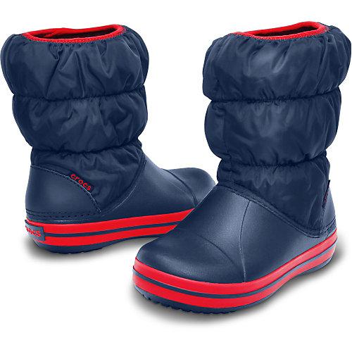 Сноубутсы CROCS Winter Puff Boot - темно-синий от crocs