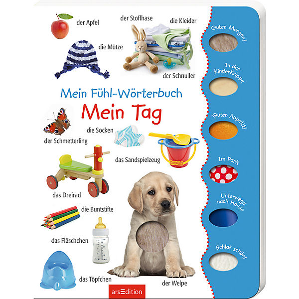 Mein Fühl-Wörterbuch Mein Tag, arsEdition Verlag