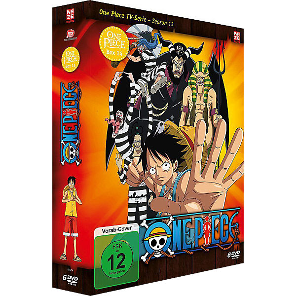 DVD One Piece - TV-Serie - Box 14