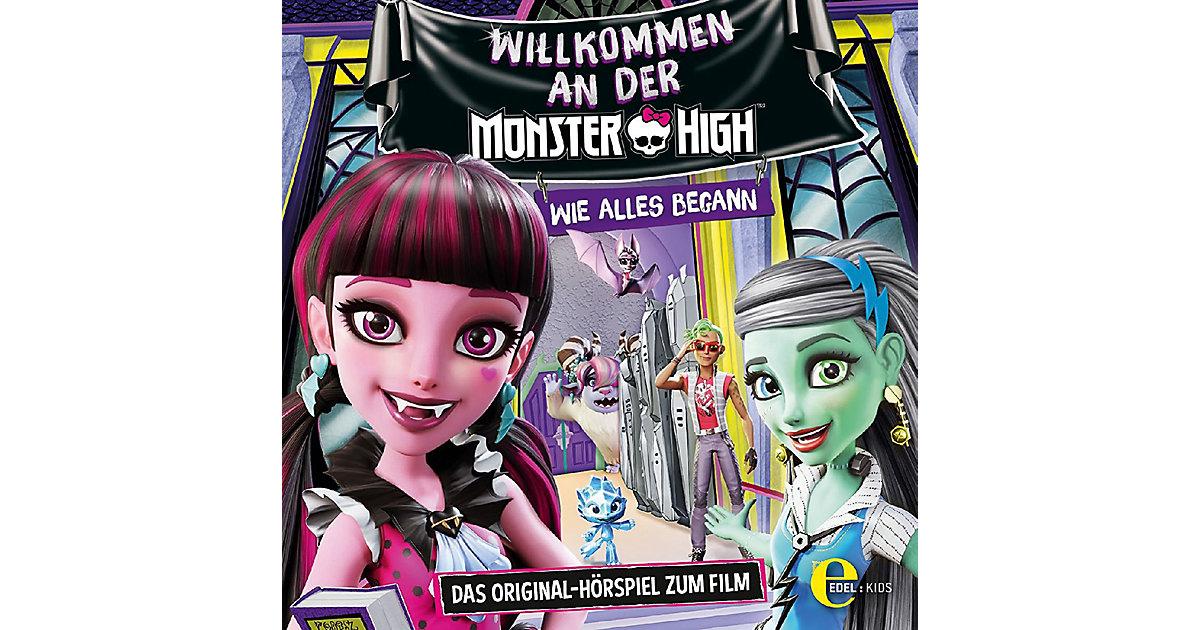 CD Welcome to Monster High - Hörspiel zum Film