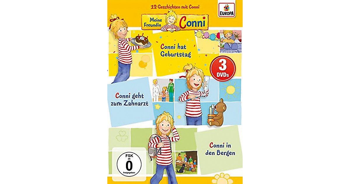 DVD Meine Freundin Conni 3er Box 2 (Folgen 4,5,6)