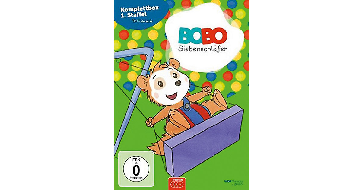 DVD Bobo Siebenschläfer Box - Komplettbox Staff...
