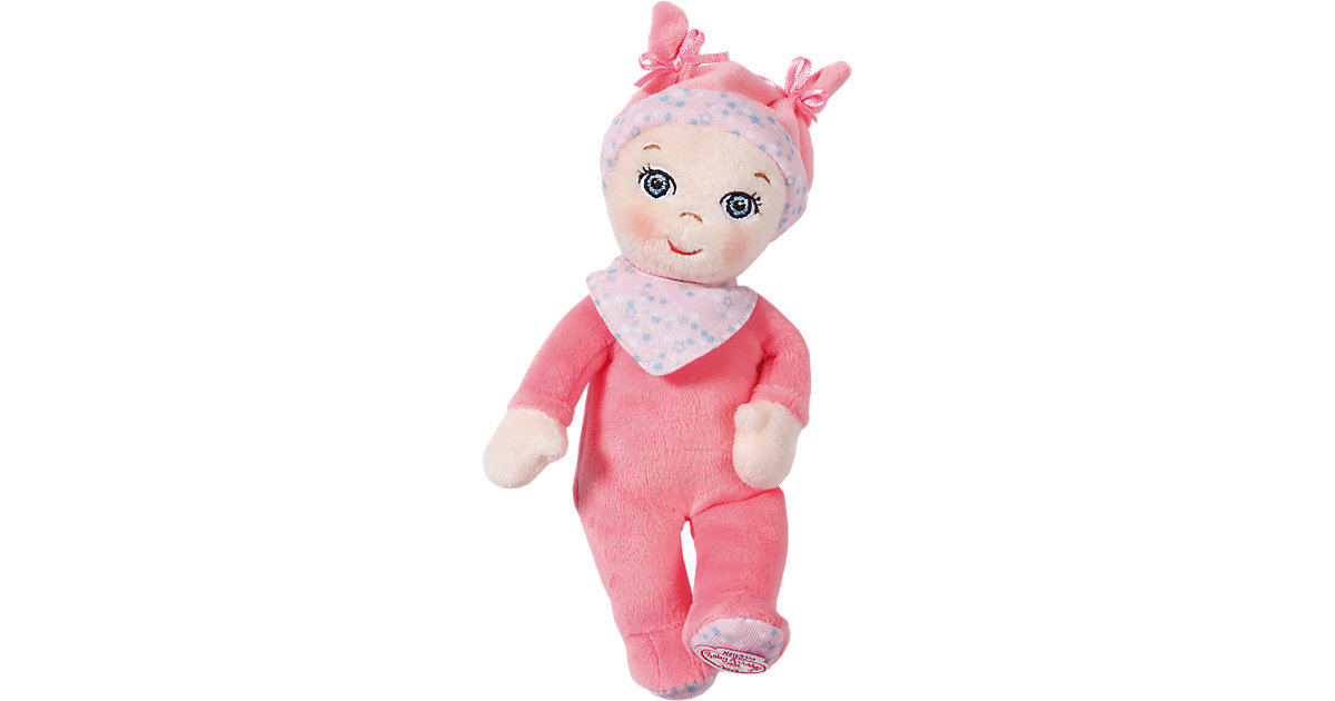 Baby Annabell® Newborn Mini Soft Stoffpuppe mit Rassel, 18 cm