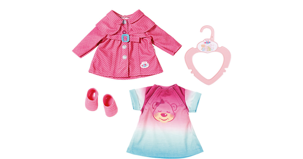 my little BABY born® Puppenkleidung Ausgeh Set, 32 cm