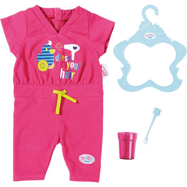 Пижама, зубная щетка и стаканчик, BABY born